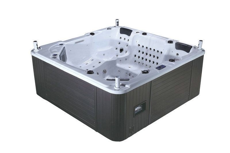 Jaccuzi bg 8836 5 persons size 2400 x 2400 x 930mm tienda distriambiente - Jacuzzi 2 places dimensions ...