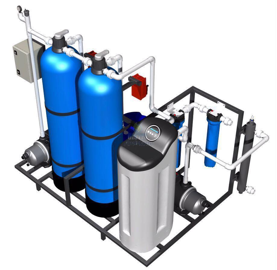 Planta de tratamiento de agua para remover dureza tienda - Tratamientos de agua ...
